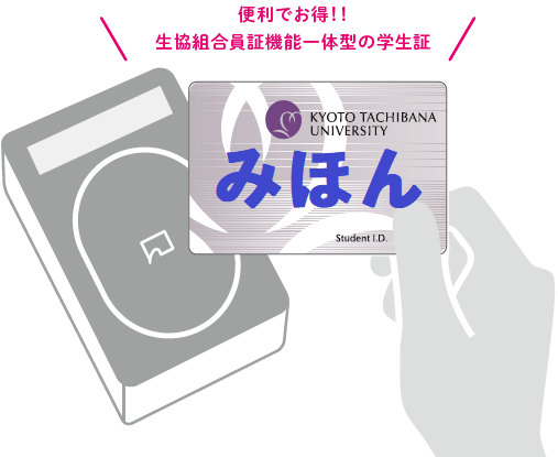 便利でお得生協ICカード